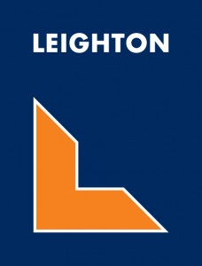 Leighton Contractors Vertical Logo